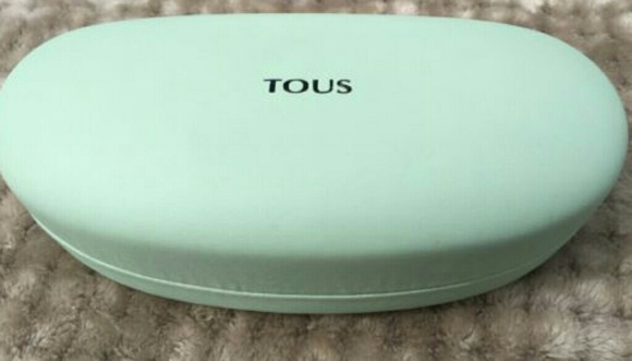 97434b98ae0b Tous Accessories - Tous Mint Blue Green Glasses   Sunglasses Case - L